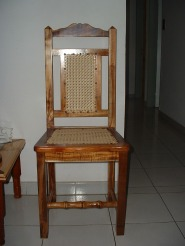 chaise en tamarin
